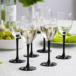 ALTOM ONYX kpl.6 kieliszków wino białe 250ml