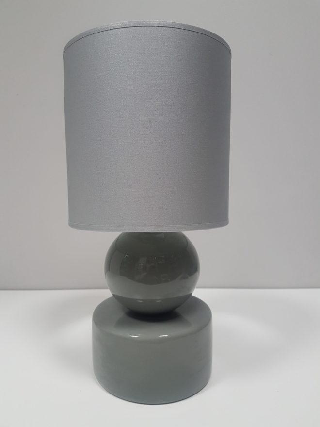 SZARA Lampka stołowa nocna Perła 20×39