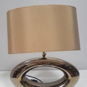 A-Z DECOR Lampka nocna OREA złota 47cm