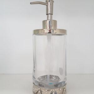 Dozownik na mydło szklany Bella Lux