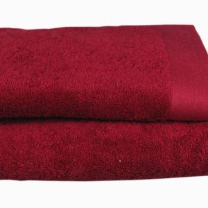 ANDROPOL Ręcznik 50×100 Bamboo Style burgund