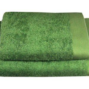 ANDROPOL Ręcznik 50×100 Bamboo Style zielony
