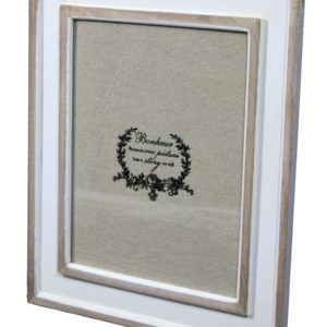 ART-POL Foto ramka biało-beżowa drewno