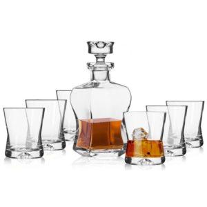 KROSNO Komplet do whisky Signature  7elementów
