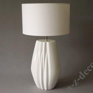 Lampa stołowa biała Evita wysokość 60CM