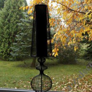 Lampa stojąca NOSTALGIA czarna 24X100