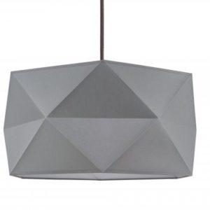 Lampa wisząca Finja Antracyt/brzoza/biała/szara 120/40/23 cm