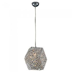 Lampa wisząca Gandia Chrom/Transparentny