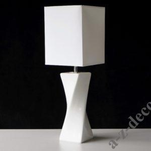 Lampka- stołowa nocna-S-TWISS-biała