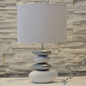 Lampka stołowa nocna AIKO biała 30x47