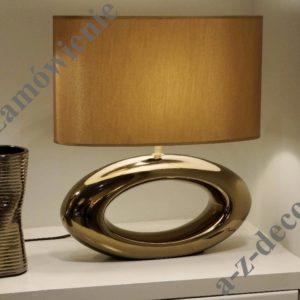 Lampka stołowa nocna Orea złota 47cm