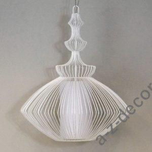 Lampka wisząca Opium biała 38x55