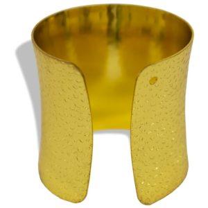 Obrączka na serwetkę złota