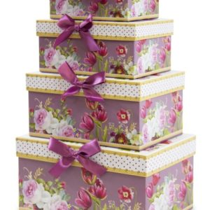 Pudełka kwiaty 8x17x12
