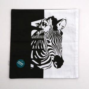 ALTOM Poszewka dek.40×40 dzikie zwierzęta zebra