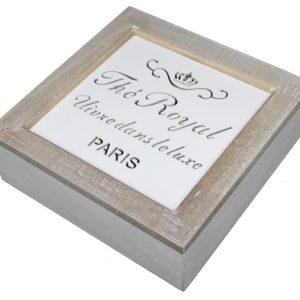 Skrzyneczka na herbatę The Royal Paris
