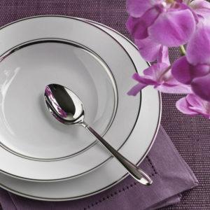 ALTOM MARIA PAULA ECRU platynowa linia zest.obiadowy 12/41