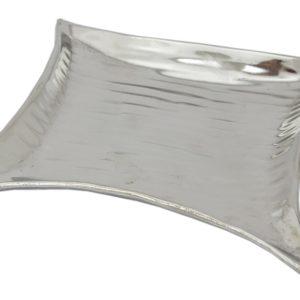 Taca srebrna metalowa