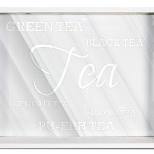 Taca białe drewno TEA
