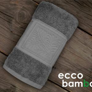 GRENO RĘCZNIK ECCO BAMBOO POPIELATY 50X90