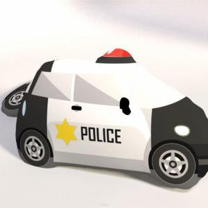 PODUSZKA KSZTAŁTKA WÓZ POLICYJNY