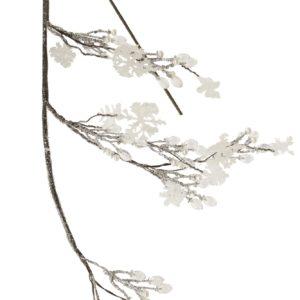 ART-POL Gałązka srebrno-biała-115630