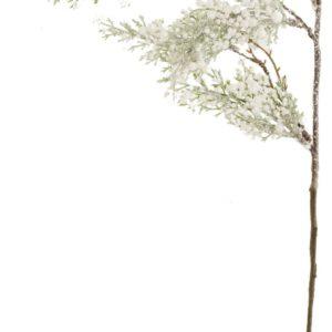 ART-POL Gałązka biało-srebrna 115640