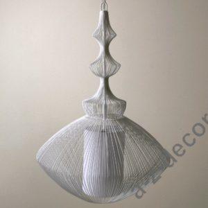 A-Z Decor Lampa wisząca Opium biała 38×55