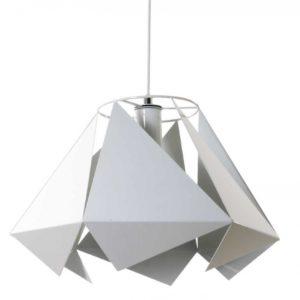 Lampa wisząca Kite metalowa biała