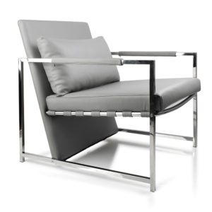 RASMUS Fotel SZARY 70×81,5xh78cm