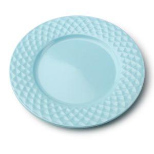 DIAMOND BLUE Talerz deserowy 20