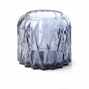 BASILE Lampion szklany 13xh11