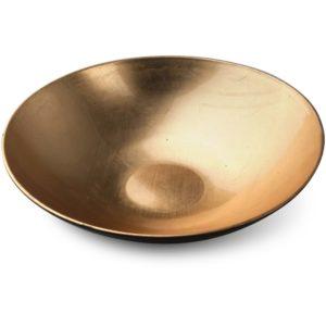 BLANCHE GOLD Misa 28x28x8cm             złota art. dekoracyjny
