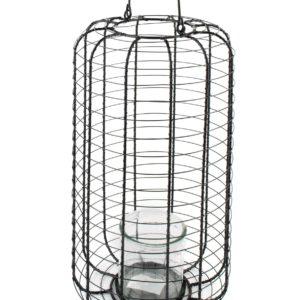 CEDRIC Lampion 23xh41cm                  szkło 10x10cm