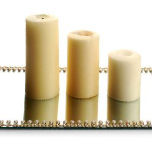ALISON Podstawka pod świecę 40x24x1cm    prostokąt