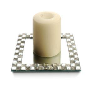 ANITA DIAMOND Podstawka pod świecę 15x15x1cm kwadrat