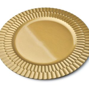 BLANCHE GOLD PODTALERZ ZŁOTY 33x33x2CM