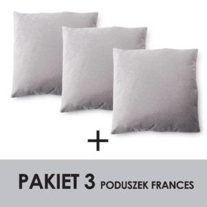 PAKIET FRANCES KPL. 3 PODUSZEK