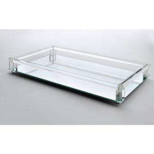 SILVANA Podstawka pod świecę prostokątna 45x25x4,5cm