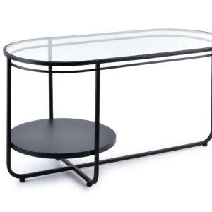 CEDRIC Stół 90x42xh48cm black