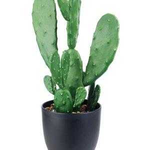 Kaktus sztuczny w doniczce 16xh47cm