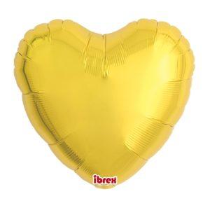 BALON SERCE METALIC GOLD 35CM