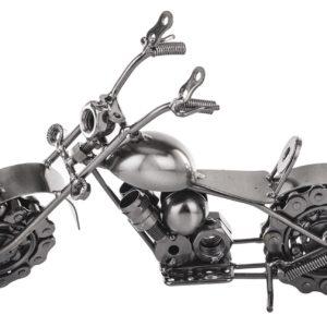 FIGURKA METALOWY MOTOCYKL